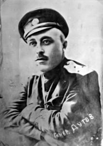 Александр Ильич Дутов, последний атаман Оренбургского казачества