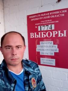 Евгений Емельянов из с. Погромное